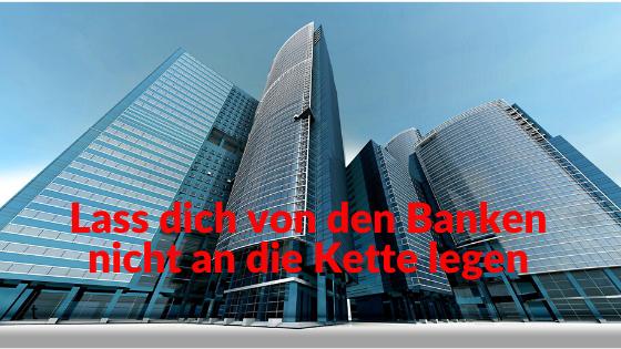 Warum dich Konsumkredite direkt in die Knechtschaft der Banken führen